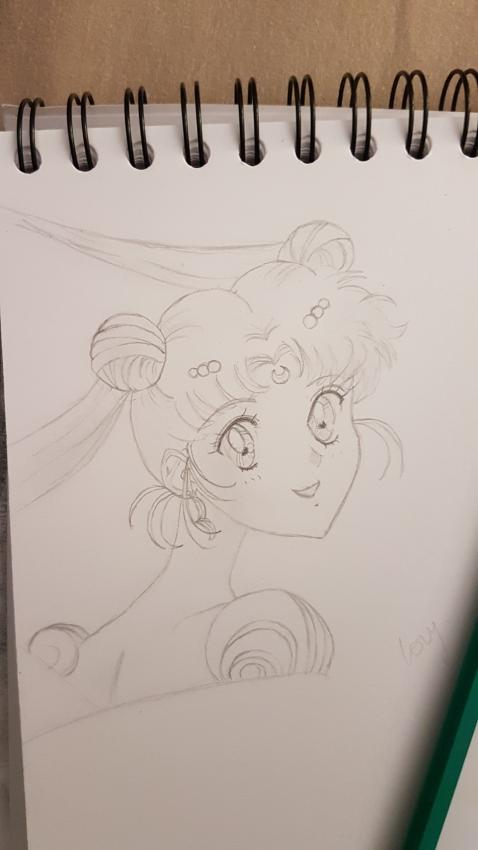 Sailor Moon by Nanou974